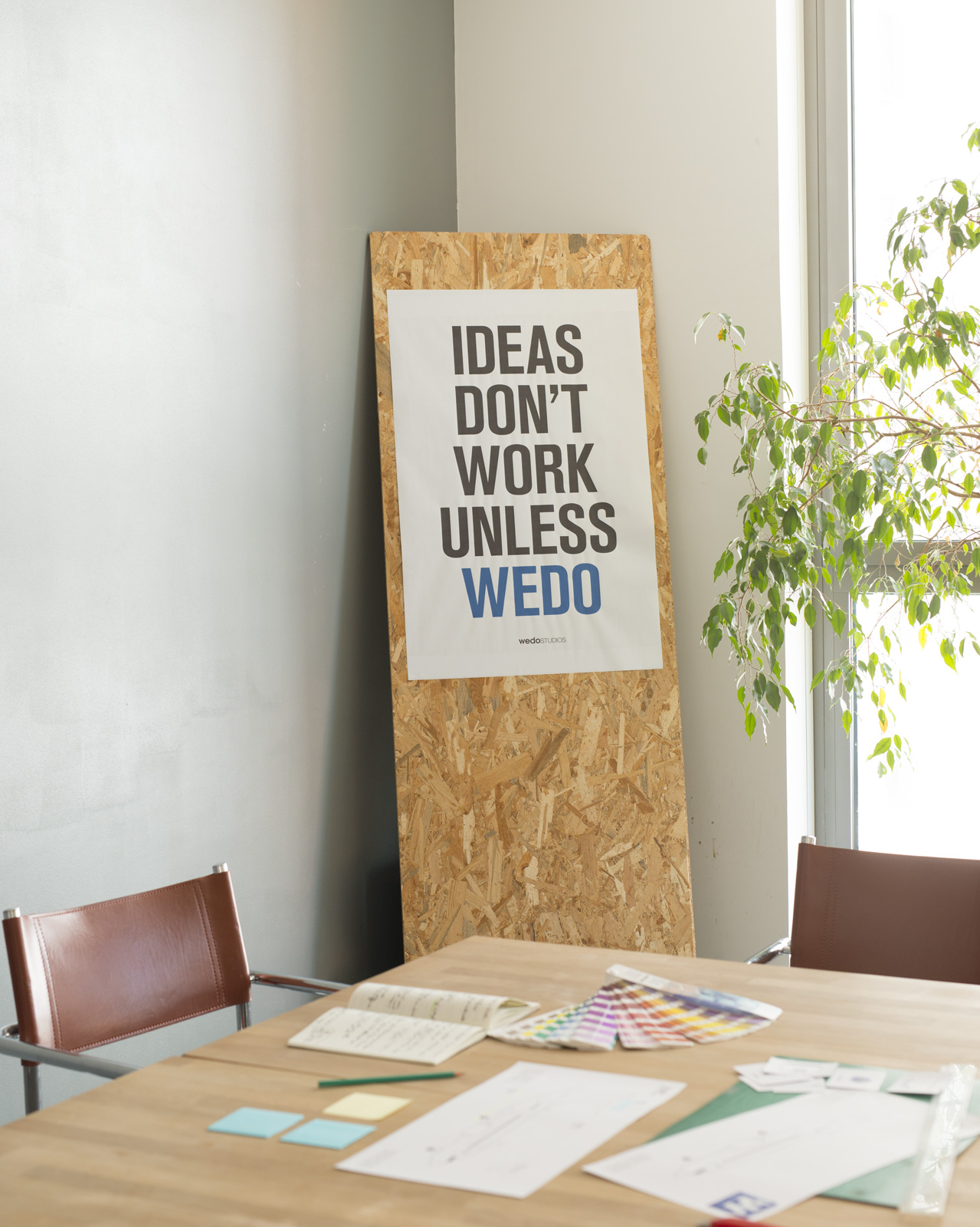 Photo d'un espace de travail Wedo Studios