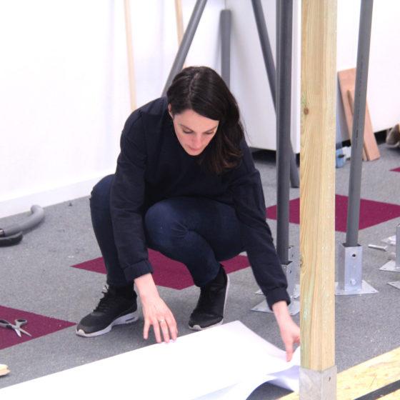 préparation de l'atelier chez Wedo Studios